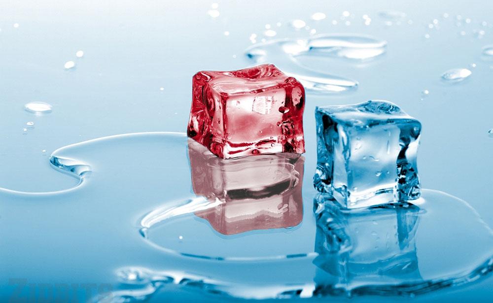 Frozen Hot Water